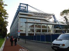 Wisła Stadium façade (2) - Stadion Miejski, Kraków - Wikipedia, the free encyclopedia