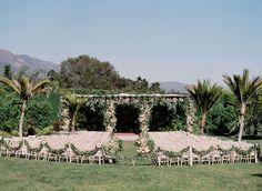 Romantic Garden Wedding in Montecito by Merryl Brown Events