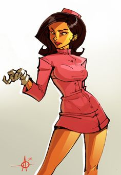 Doctor Girlfriend....now on the list of favorite smart-ass brunettes...