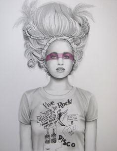 Vive Le Rock by Raffaella Bertolini, from Raffaella Bertolini available at www.globalarttraders.com