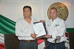 Llevamos a cabo el nombramiento oficial de quien fungirá como Director de Tránsito y Vialidad en el municipio, designando en el cargo, al capitán Gabriel Acevedo Rojas