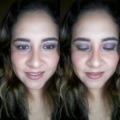 ¡Halo Eyes!-tonos morados y lilas.