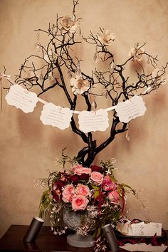 So for the next year in our spare time we can make paper flowers to add to branches--or just use branches with greenery....