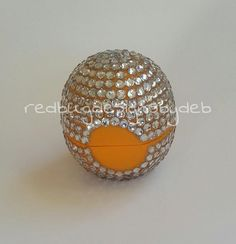 Blinged out Eos Lip Balm
