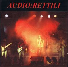 "Audio: ""Rettili"", Live album cover, 1998."