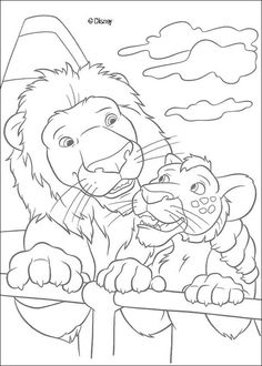 Discover this beautiful coloring page of the famou disney movie