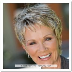 Best Short Hairstyles for Gray Hair | Short Hairstyles Reference