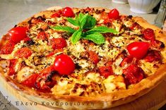 Brunch Recipes, Vegetable Pizza, Quiche, Food And Drink, Appetizers, Pie, Vegetables, Breakfast, Tarts