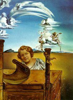 salvador dali pintor español. N.en Cataluña 1904+1989