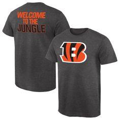 Cincinnati Bengals NFL Pro Line by Fanatics Branded Rally Logo T-Shirt - Gray