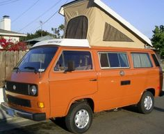 I want one! VW Westfalia!