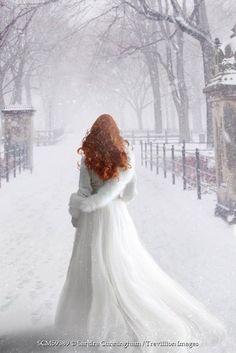 ideas for photography winter portrait snow queen