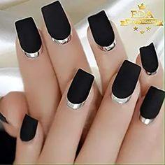 Pink Gel Nails, Silver Nails, Glam Nails, Glue On Nails, Acrylic Nails, Nail Remover, Nail Photos, French Tip Nails, Artificial Nails