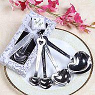 """Love Beyond Measure"" Heart Shaped Measuring Spoons Wedding Favor – CAD $ 13.90"