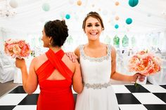 Colourfully Chic at Clonabreany House - Real Wedding by Konrad Kubic Photography Real Weddings, Backless, Formal Dresses, Chic, Pretty, Photography, Color, Wedding Ideas, Flowers