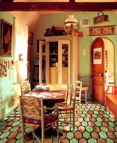 [ Younhyun Tile / 윤현상재 타일 ] Handmde Tile : La Loggia Losanga / Size (cm) : 15X30