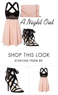 """A Night Out"" by liesandsecrets on Polyvore featuring Nine West and Tory Burch"