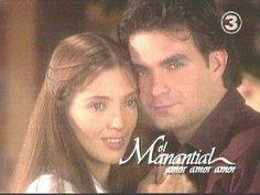 Adela Noriega y Mauricio Islas en la telenovela El Manantial