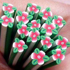 Flower Polymer Clay Cane