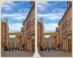 Pedestrian Zone - Cross Eye 3D by zour on DeviantArt