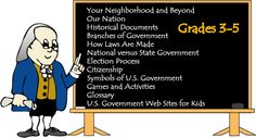 3 branches of government - Ben's Guide to U. Government for Kids 3rd Grade Social Studies, Social Studies Activities, Teaching Social Studies, Teaching Government, Government Lessons, Government Website, Library Lesson Plans, Library Lessons, Library Programs