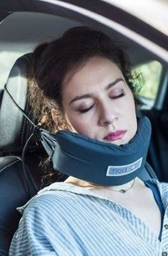 Finally, Someone Invented A Head Hammock So You Can Sleep Comfortably While Traveling