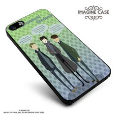 Supernatural herlock Quote case cover for iphone, ipod, ipad and galaxy series