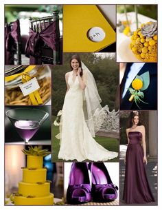 Colors: Plum and Mustard