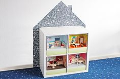 So schnell wird dein Ikea Expedit Regal zum Puppenhaus