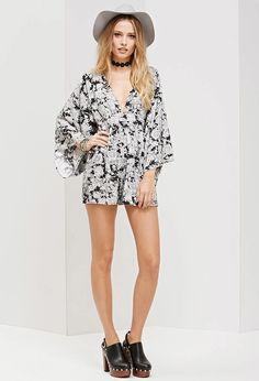 Motel Eclipse Kimono Romper #f21brandedshop