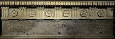 A replica of the sarcophagus of Lucius Cornelius Scipio Barbatus (decorative frieze and inscription). Rome, Tomb of the Scipios Rome Architecture, Cornelius, Ancient Rome, Roman, Google Search