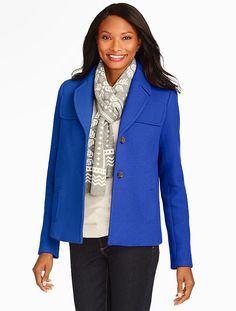 Talbots - Albury Short Pea Coat | Coats and Outerwear |