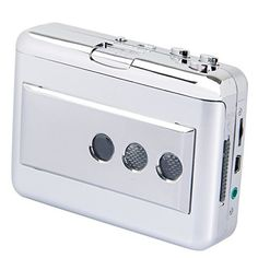 Portable Tape to PC Cassette-to-MP3 CD USB Converter Capture Digital Audio Music Player, USB Cassette Player and Tape-to-MP3 Converter