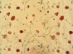 2.375 Yds Scalamandre Upholstery Fabric Perrault Silk Lampas ...