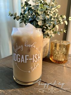 Clear Coffee Mugs, Coffee Shot, Glass Coffee Cups, Coffee Wine, Iced Coffee, Personalized Cups, Personalized Beer Glasses, Custom Starbucks Cup, Aesthetic Coffee