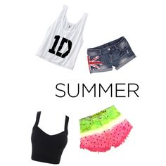Summer and 1D outfit!!!(: