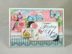Botanical Tea 5 x 7 with tutorial - some really pretty ideas on this site using Graphic 45 collections.
