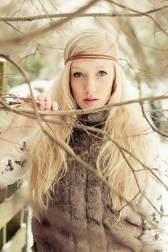 Sarie - snow shoot