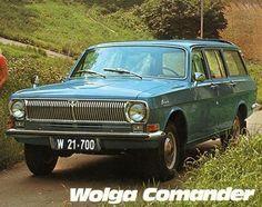 Wolga Comander (24-02) '1972 by ÖAF-Gräf & Stift AG for Austria #GAZ #2402 #GAZ24 #Volga