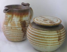Artisan Hand Crafted Ceramic #Pottery Cream and Sugar Set