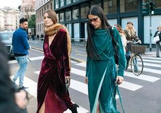 Velvet crew/ Lo mejor de Milan Fashion Week