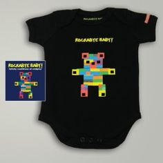 GIVEAWAY: Have any pointers for new parents out there?   Share some of your best parenting tips over on the blog for the chance to win one of our new album art onesie bundles! http://rocka.by/Blog4RB