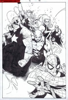 Kwan Chang :: For Sale Artwork :: Siege by artist Olivier Coipel