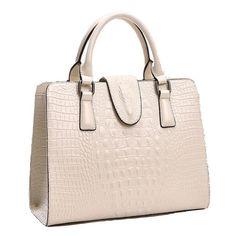 Crocodile Pattern Design Handbag