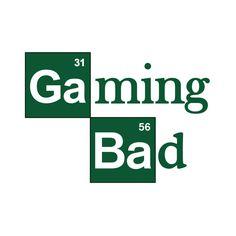Gaming Bad Art Print
