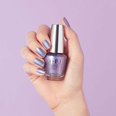 Long-lasting, pearlescent shine in a shimmery purple color. Metallic Nail Polish, Purple Nail Polish, Toe Polish, Purple Colour Shades, Interview Nails, Dark Purple Nails, Wedding Nail Polish, Long Lasting Nail Polish, Modern Nails
