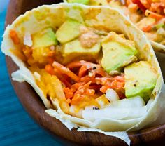 Top Wraps for 2013 on Pinterest | Wraps, Hummus Wrap and Sandwiches