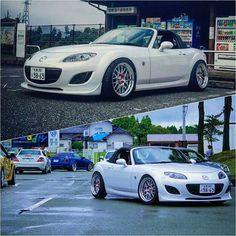 our random crap — topmiata: 🖤 / Photo by:. Mx5 Nc, Mazda Roadster, Mazda Miata, Japan Cars, Jdm Cars, Dream Garage, Honda Civic, Peugeot, Vintage Cars