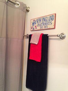 Sports themed bathroom etsy print house decor for Sports themed bathroom ideas