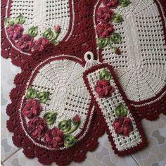 Crochet Squares, Crochet Doilies, Crochet Flowers, Crochet Home, Knit Crochet, Donia, Crochet Stitches Patterns, Fabric Painting, Crochet Projects